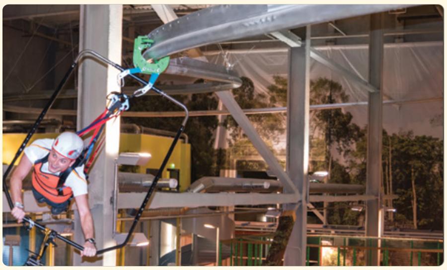 Children's playground equipment + extreme sports + sweat slide + slide + zipline (10)