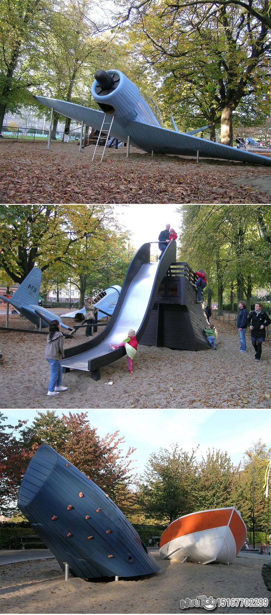 Non-standard amusement + personalized playground + amusement equipment + rides + outdoor children's play facilities _13