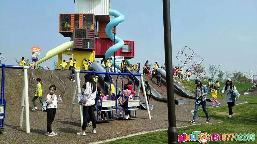 Non-standard amusement + Hongshan Sports Park construction + children's playground (4)