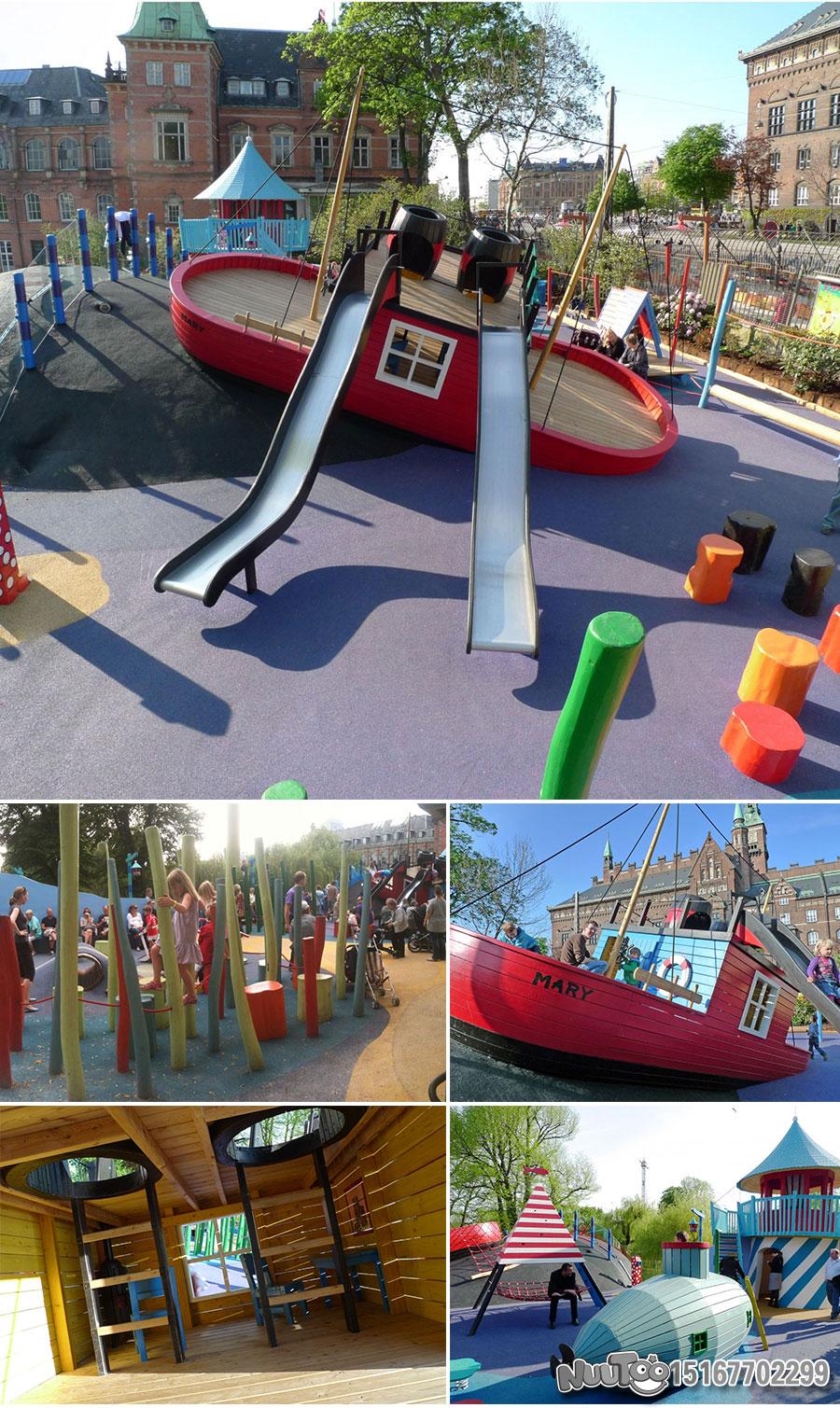 Non-standard amusement + personalized playground + amusement equipment + rides + outdoor children's play facilities _10