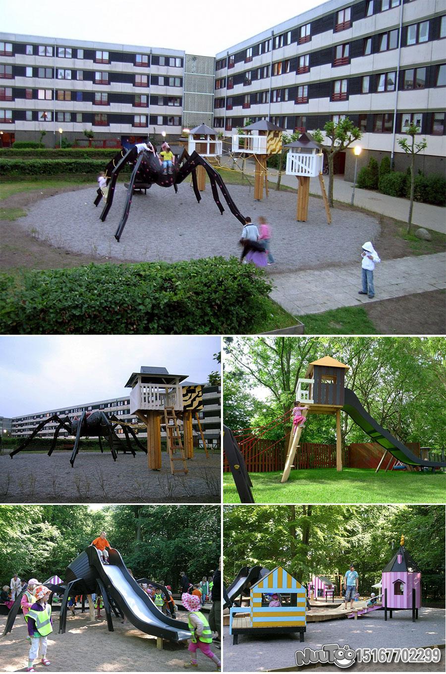 Non-standard amusement + personalized playground + amusement equipment + rides + outdoor children's play facilities _07