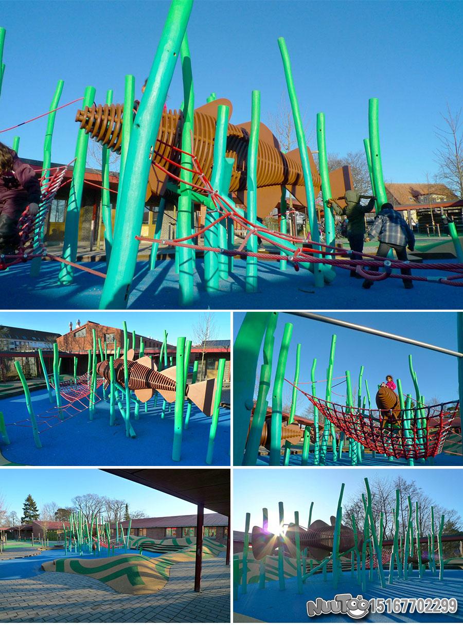 Non-standard amusement + personalized playground + amusement equipment + rides + outdoor children's play facilities _08