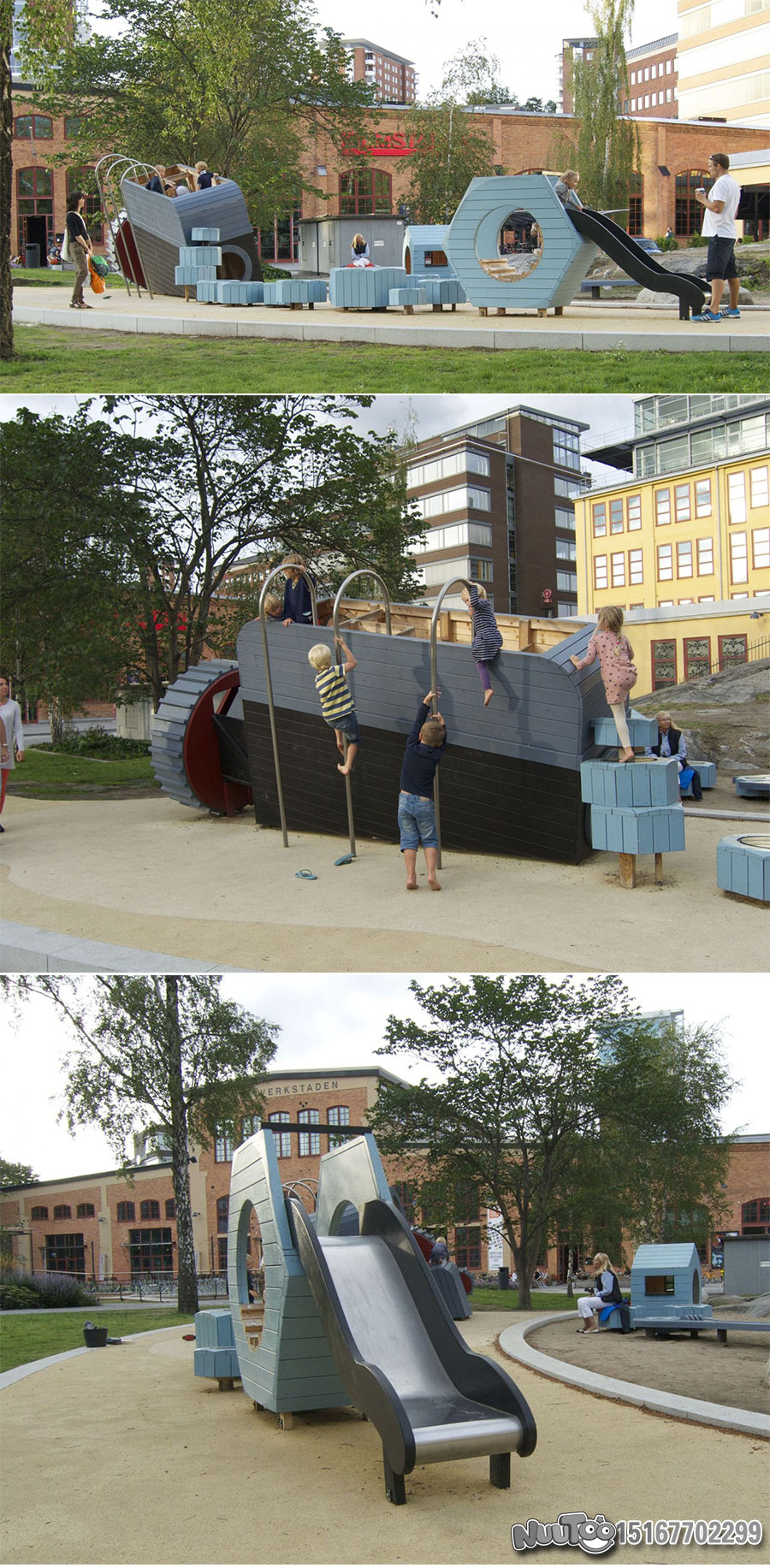 Non-standard amusement + personalized playground + amusement equipment + rides + outdoor children's play facilities _15