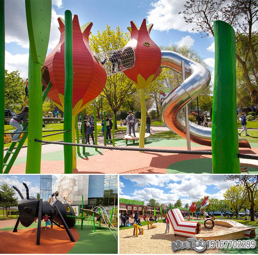 Non-standard amusement + personalized playground + amusement equipment + rides + outdoor children's play facilities _09