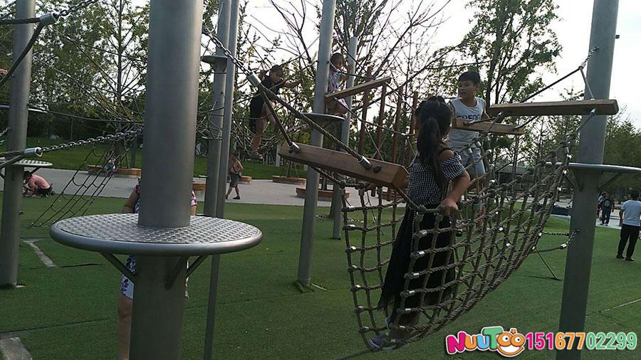 Walnut Paradise + Non-standard ride + combination slide + play equipment - (14)