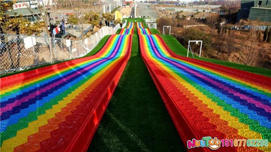 Colorful slides + colorful slides + dry snow slides + leap slides - (26)